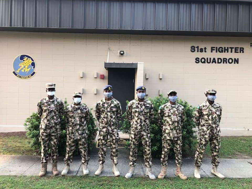 Nigerian Armed Forces 629