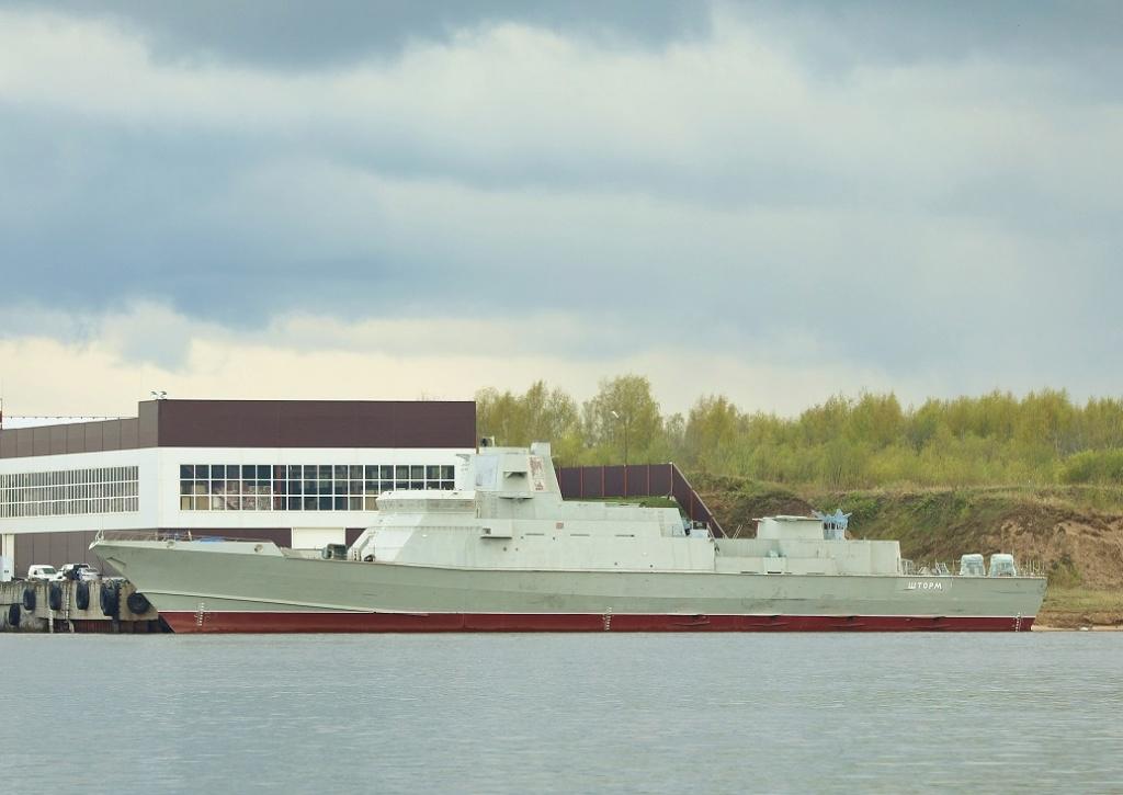 "Project 22800: ""Karakurt"" class missile ship - Page 34 80403410"