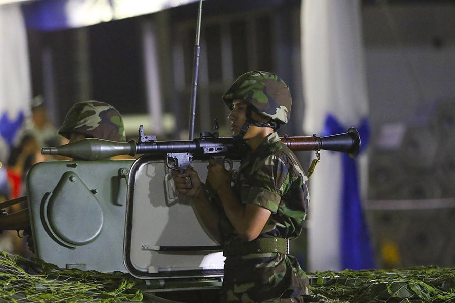 Nicaraguan Armed Forces Bickop12