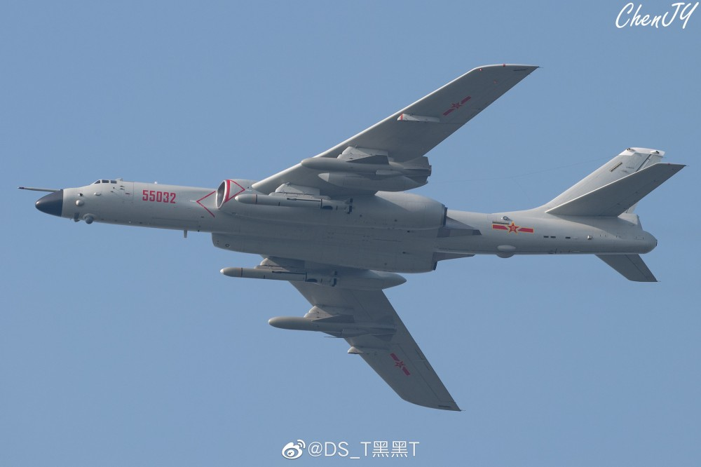 Chinese Strategic Bombers H-6n_310