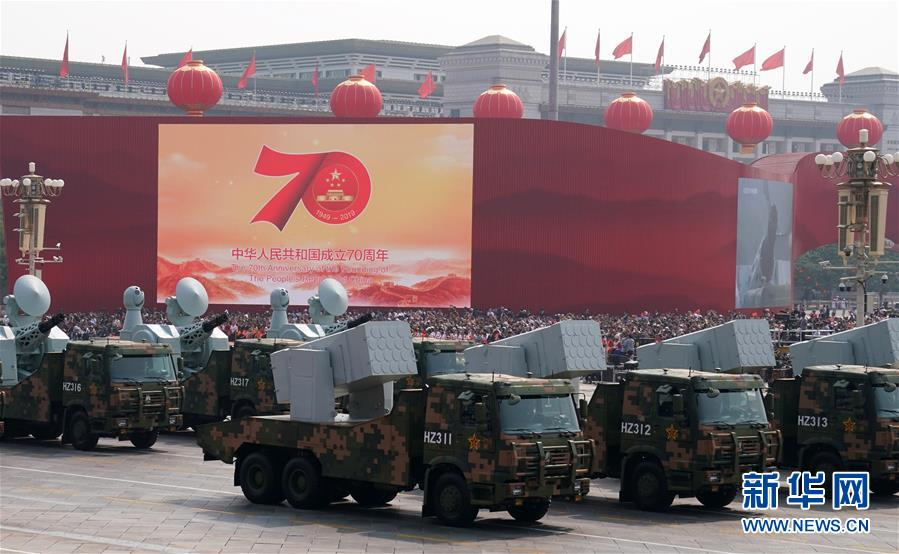 Chinese-made SAM systems Hhq-1010
