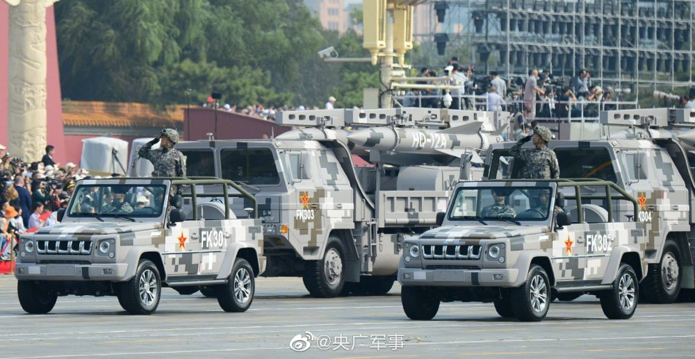 Chinese-made SAM systems Hq-12a10