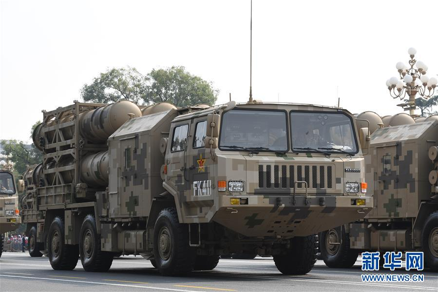 Chinese-made SAM systems Hq-16a10