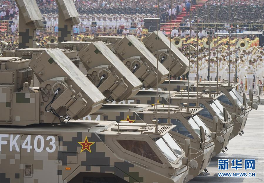 Chinese-made SAM systems Hq-17a11