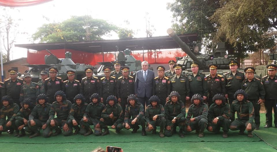 Russia-Laos military cooperation Laos310