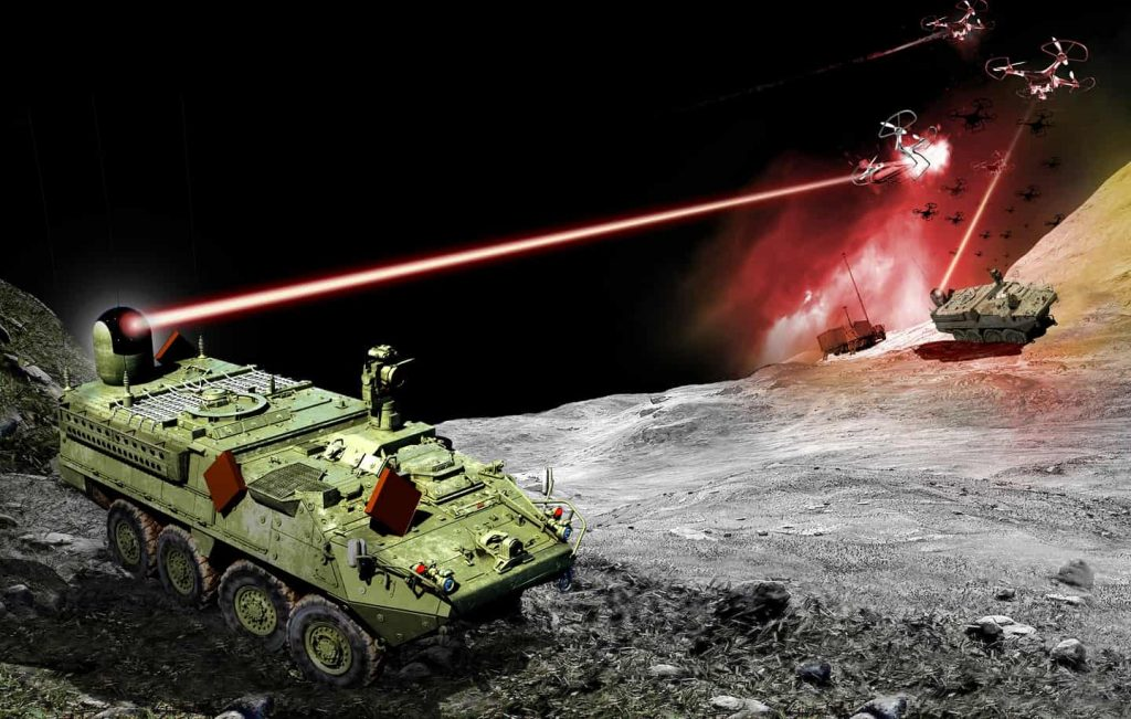 Directed Energy weapons in US Military Stryke10