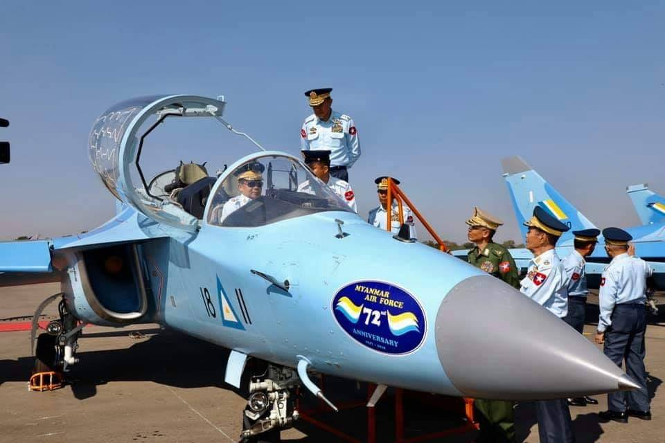Myanmar Armed Forces - Page 2 Yak-1310