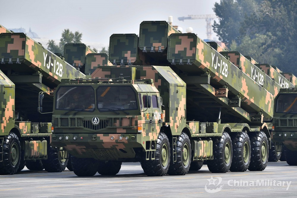 China's Anti-ship missiles Yj-12b11