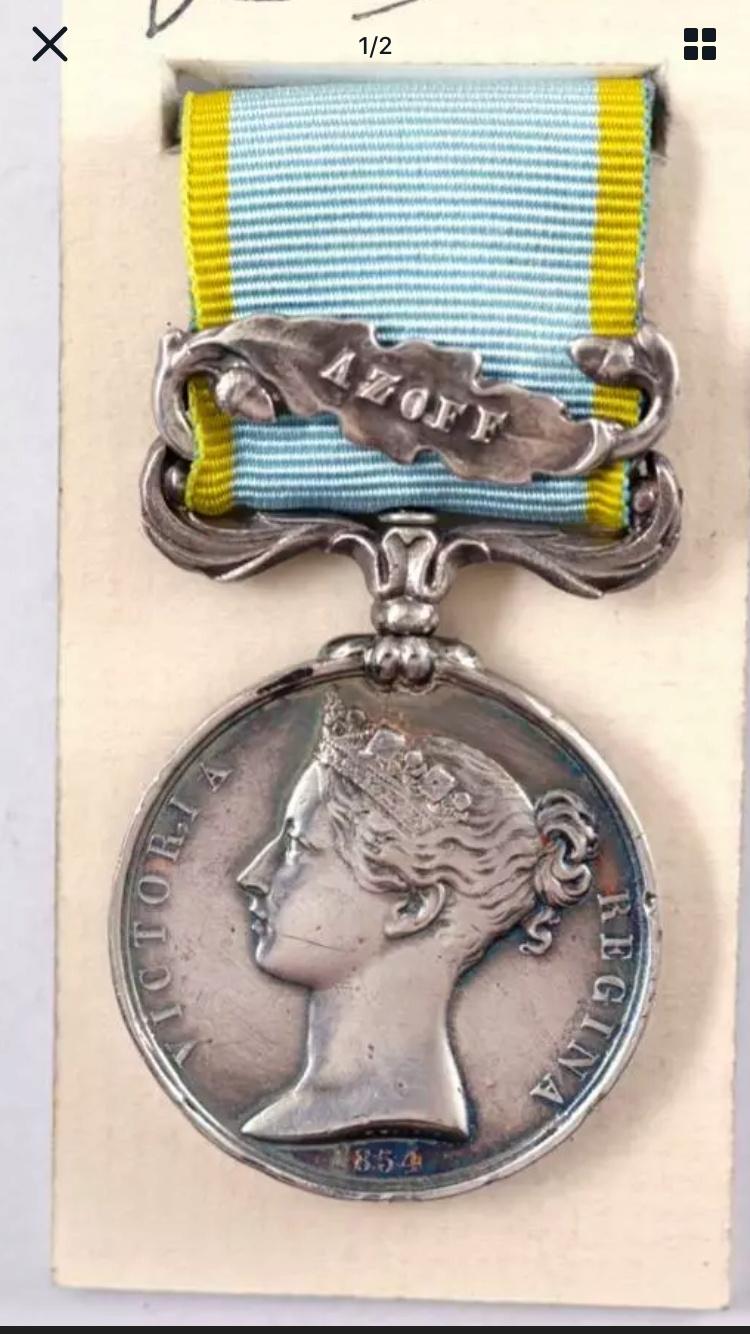 Médaille Crimée avec agrafe et ruban  0031df10
