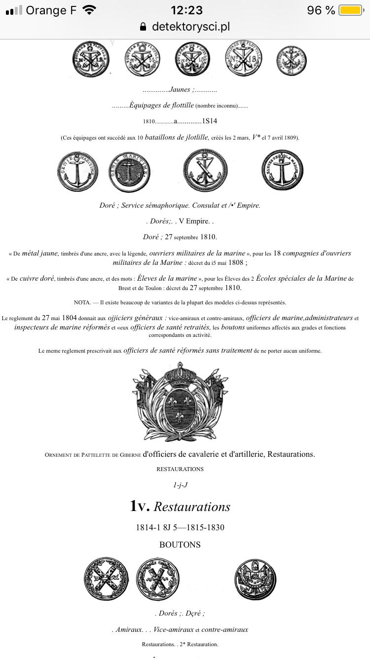 Matelot 1er empire. 0a766210