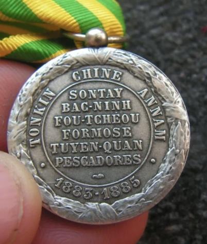Médaille Tonkin 1883-1885 49316910