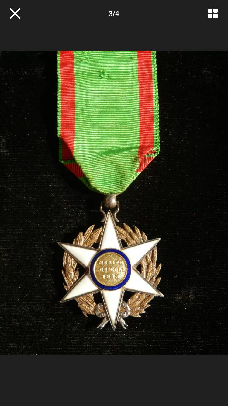 Différencier médaille mérite agricole  4fd3b310