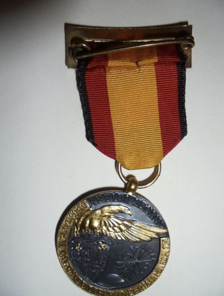 Médaille espagnole de 1936  69e57c10