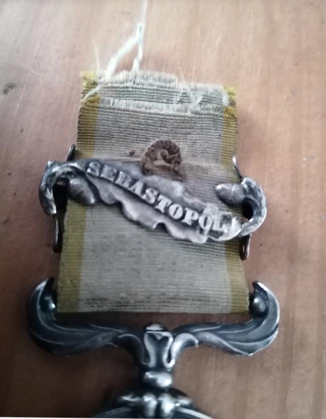 Médaille Crimée avec agrafe et ruban  9cd65410