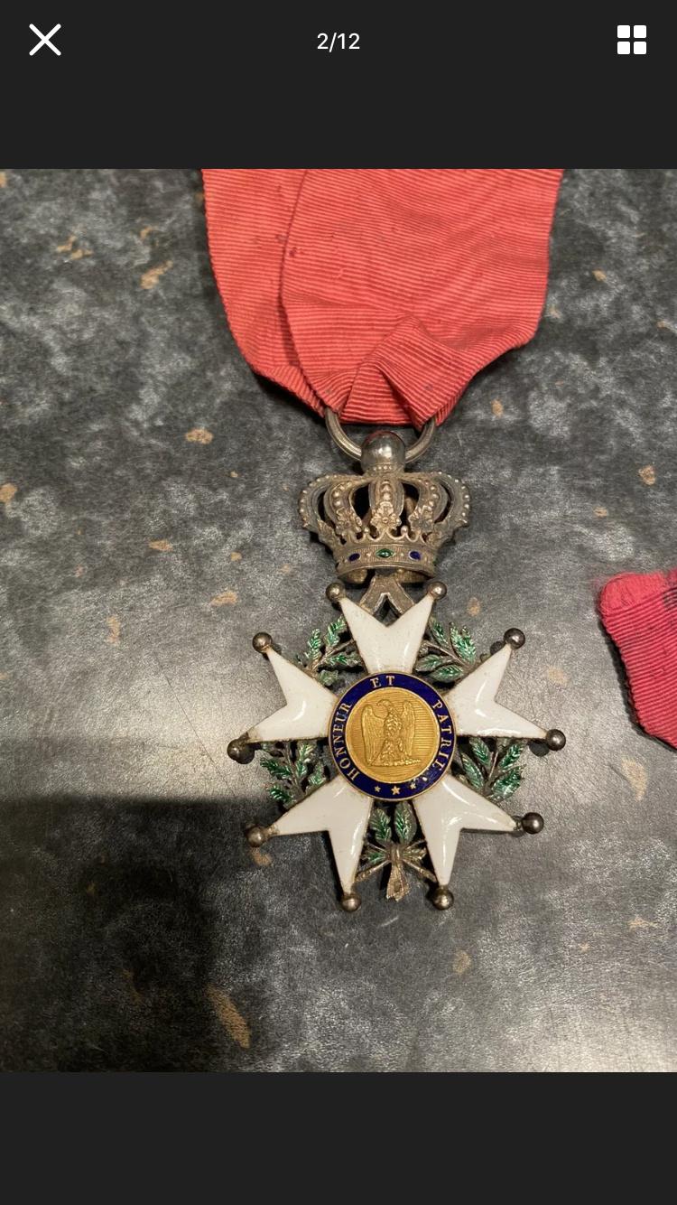 Légion d'honneur Empire hybride (1800´ - 1848) ? A85d4d10
