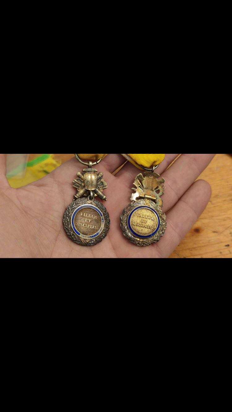 Médaille militaire biface et bombée ?? Aa16a810