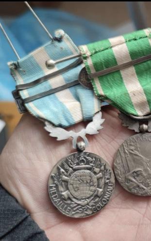 Médaille coloniale Bir Hacheim 1942  Af8d0810