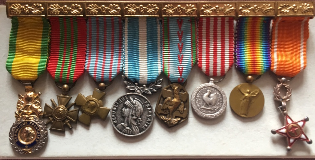 Identification médaille Ltc Jean Bréchignac Dd551010