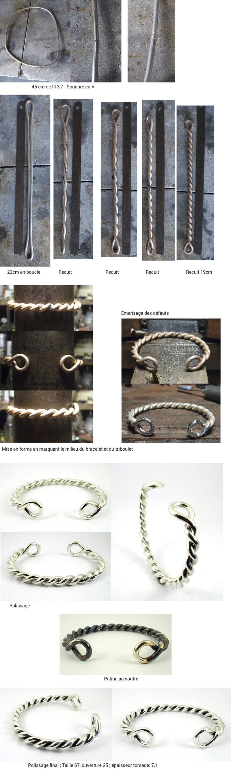 Bracelet double torsade Bra_tr10