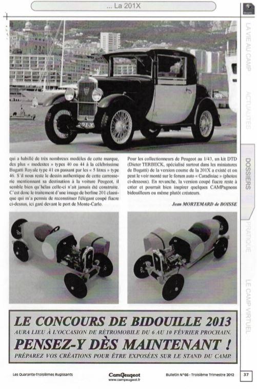 Une Colle... Peugeot 201 coupé fiacre Bugatti!?! 210