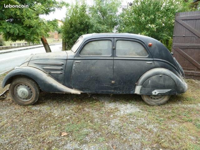 Peugeot 302 1936 sortie de grange Big-7410