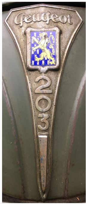 emblème de 203 E10