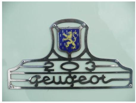 emblème de 203 Y10