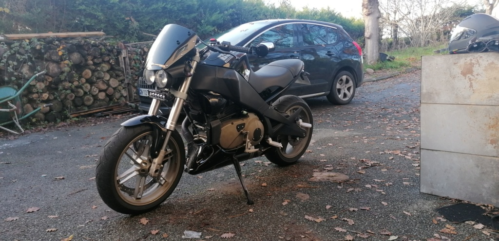 [Classics du Gamin] BUELL XB9-R FireBolt x VOXAN CafeRacer - Page 7 Img_2011