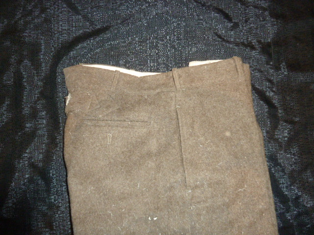Pantalon français daté 1940 P1600922
