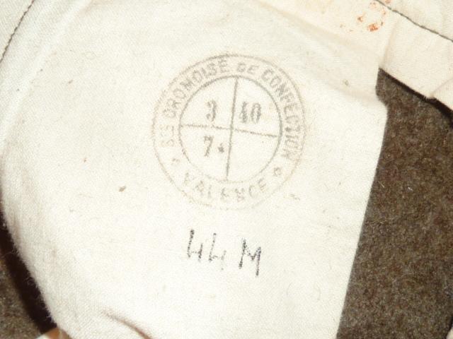 Pantalon français daté 1940 P1600924