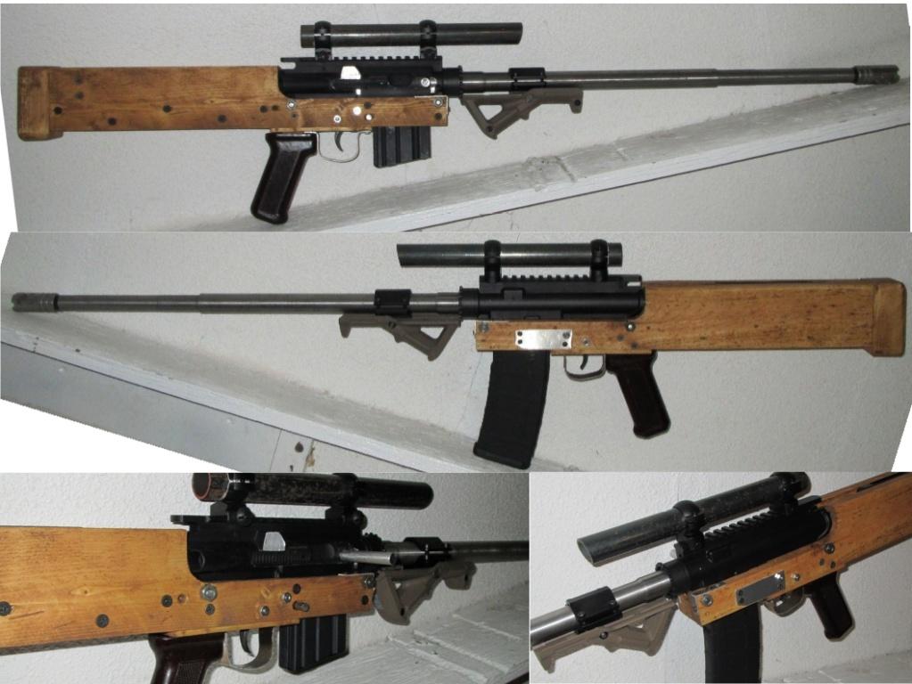 Jard J68 Bullpup calibre 9mm non-restreint 2x410