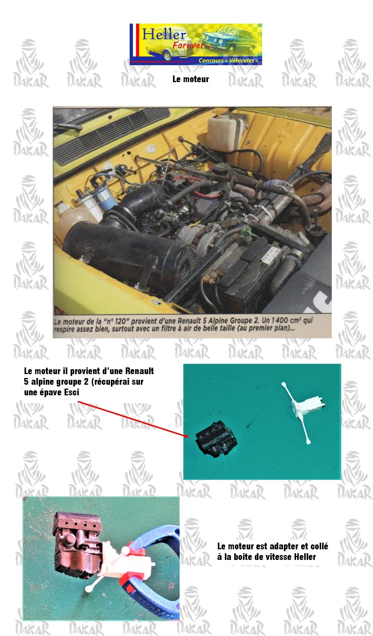 [1/24]Renault 4 l dakar 1980 Ref 80759 1412
