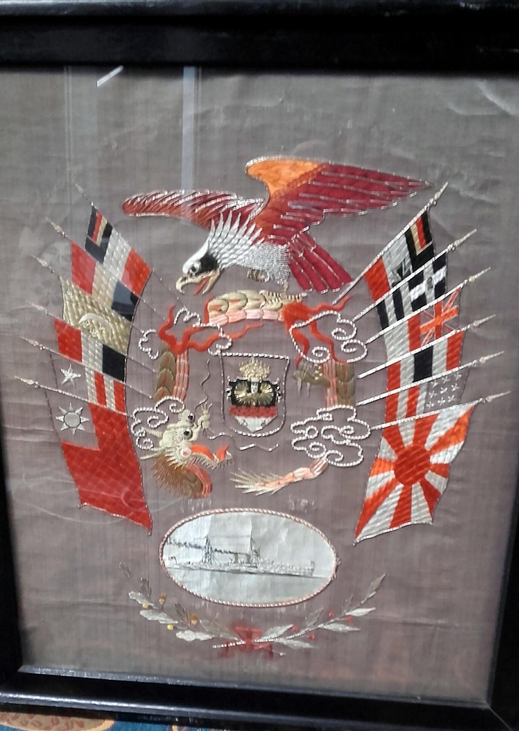 Tableau réserviste Chine et casquette enfant troupes coloniales  20200449