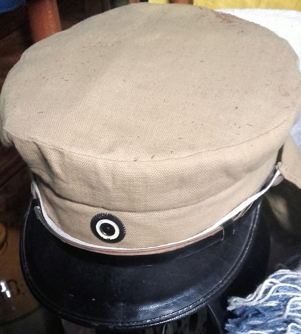 Tableau réserviste Chine et casquette enfant troupes coloniales  20200457
