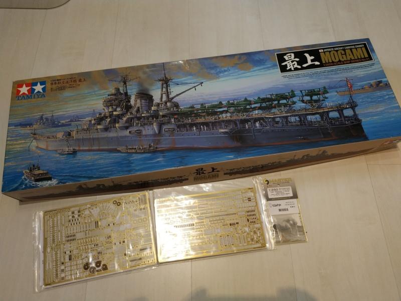 Vente 1/350 -Lot Mogami  +avions blindé... livrable Bron Img_2102