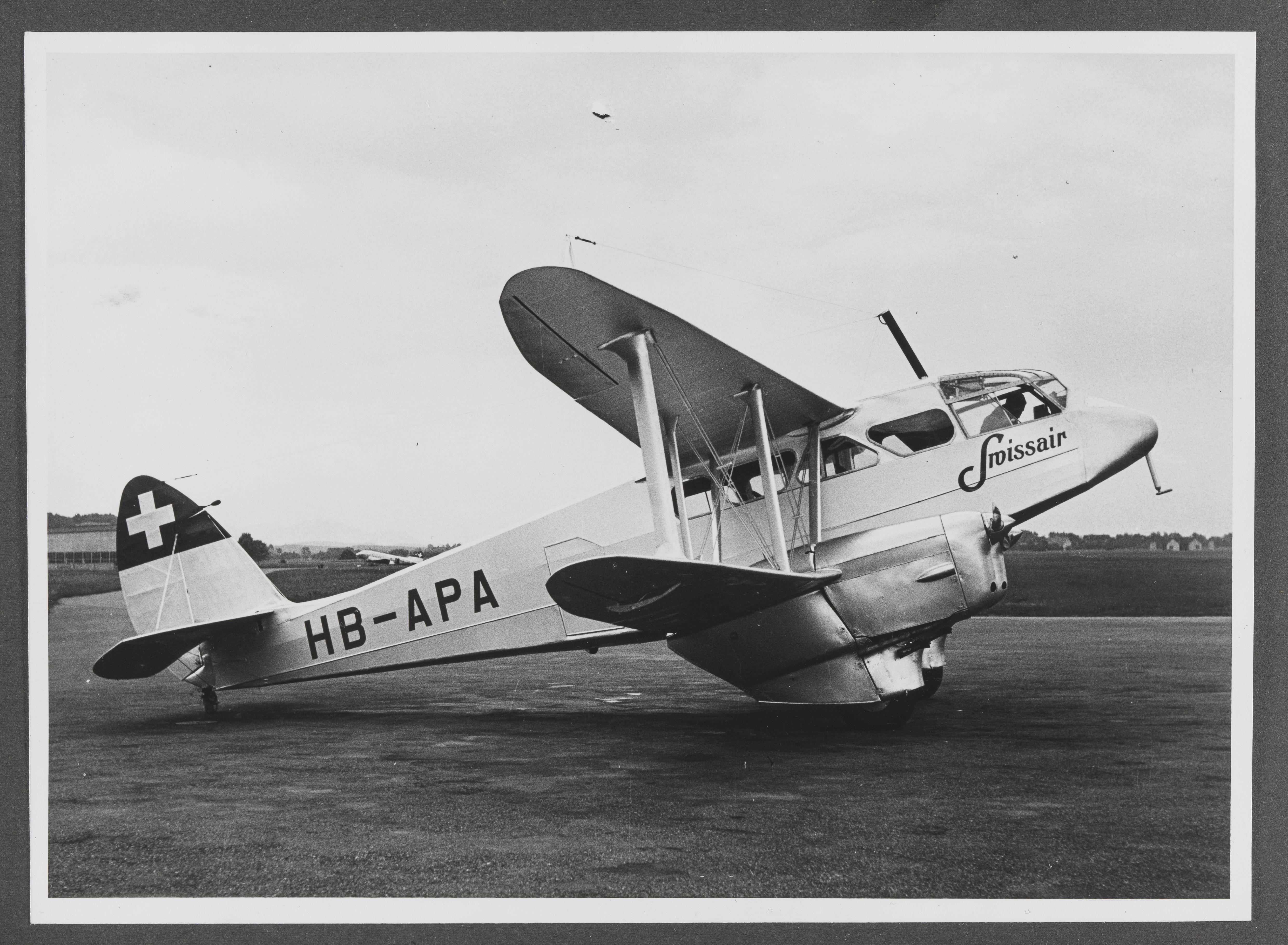 DH-89 Dragon Rapide - Swissair - Kit Heller 1/72 Lbs_sr12