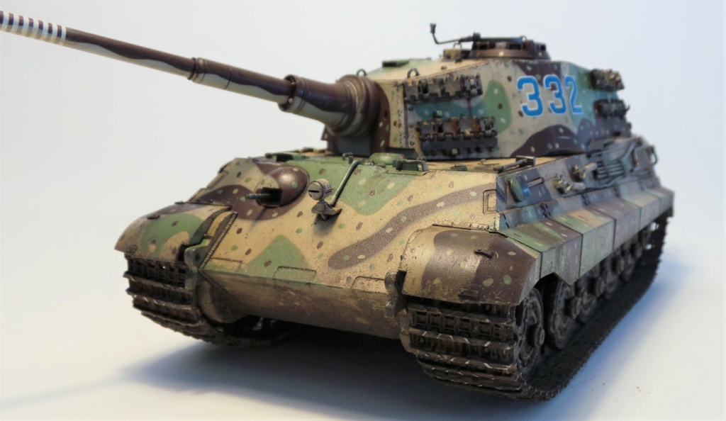KingTiger (Tiger II) Zvezda 1/35 20180610