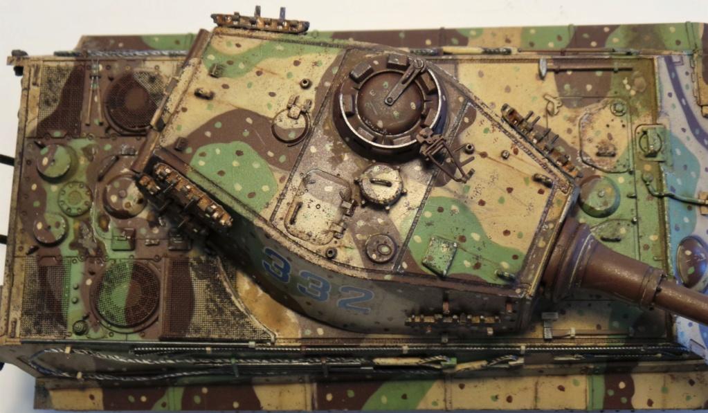 KingTiger (Tiger II) Zvezda 1/35 20180611