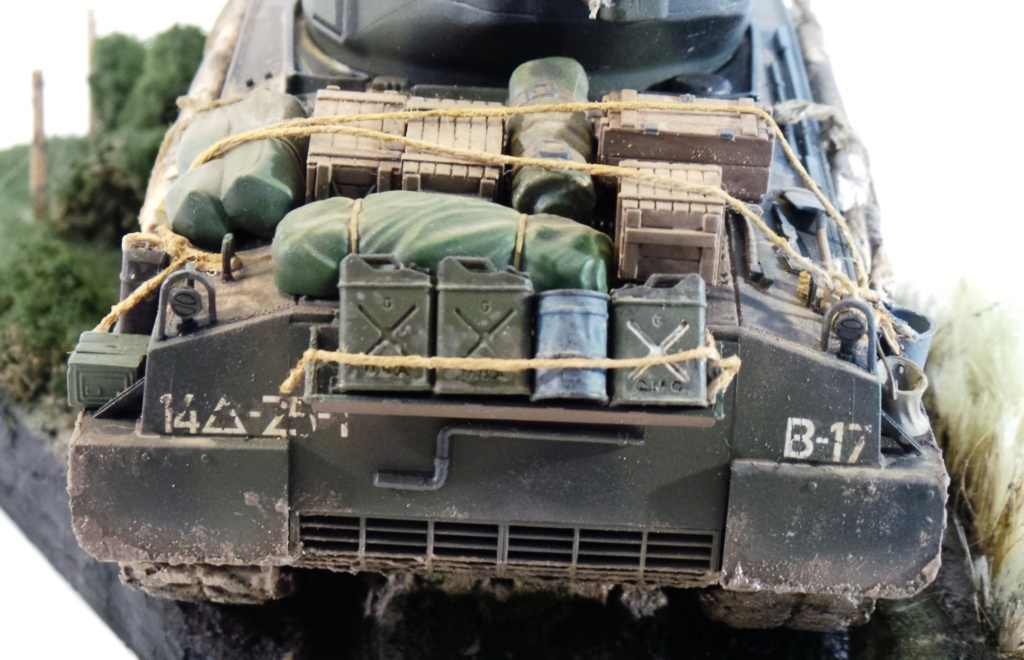 Sherman M4A3E8 Italeri 1/35 20180919