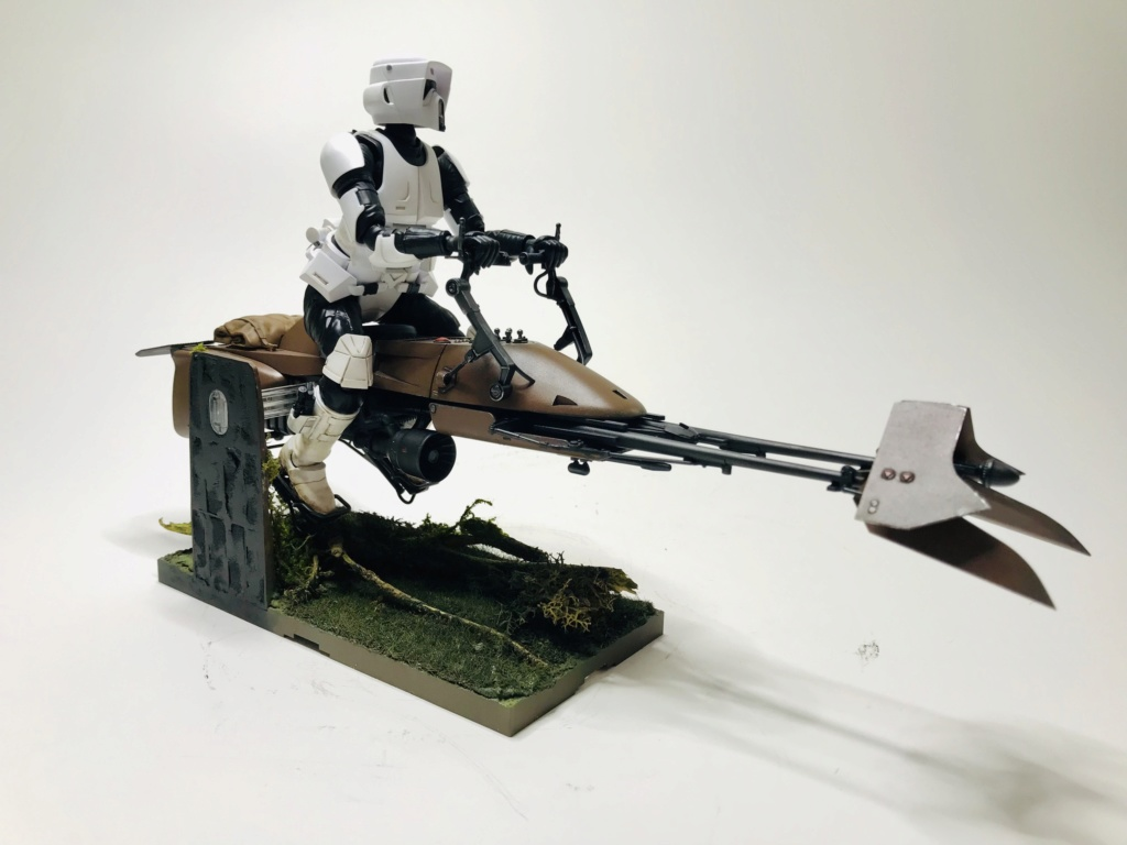 Speeder Bike & Scout Trooper Bandai 1/12 Img_e218