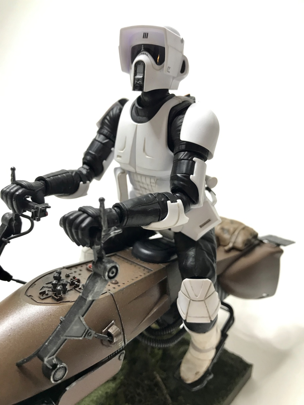 Speeder Bike & Scout Trooper Bandai 1/12 Img_e219