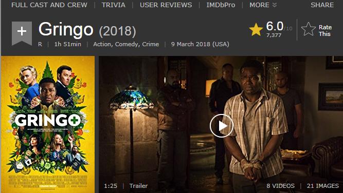 حصريا فيلم الاكشن والكوميدي والجريمة الاكثر من رائع Gringo (2018) 720p BluRay مترجم بنسخة البلوري 2018-012