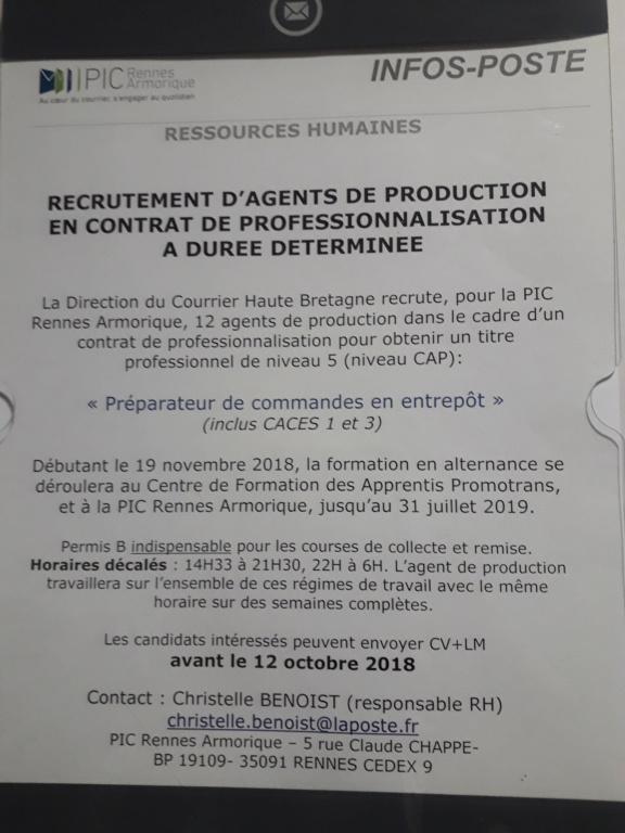Offre d'emploi 20181010