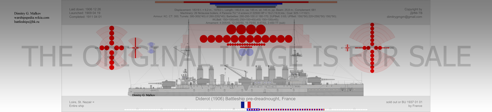 Mes dessins des navires francais Bb-19011