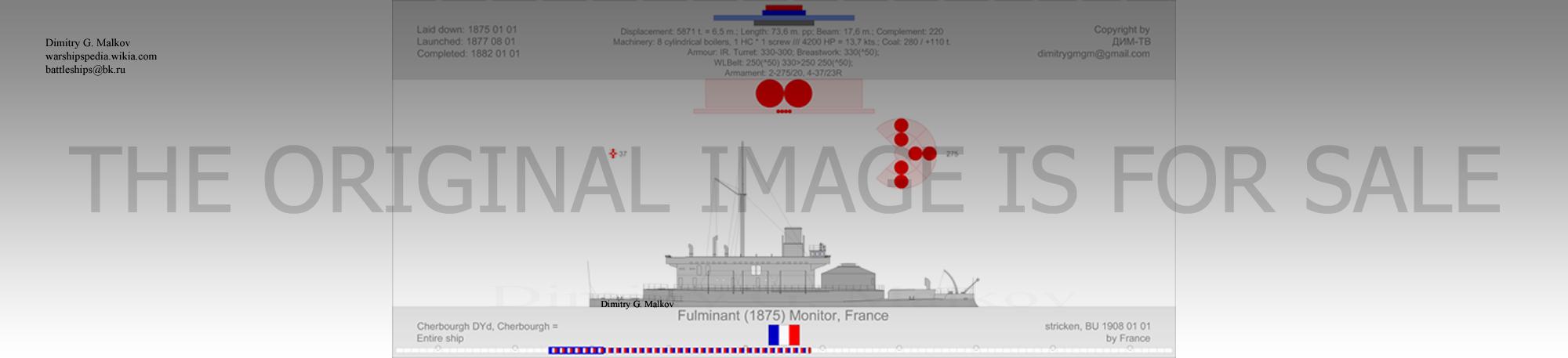 Mes dessins des navires francais Bm-18711