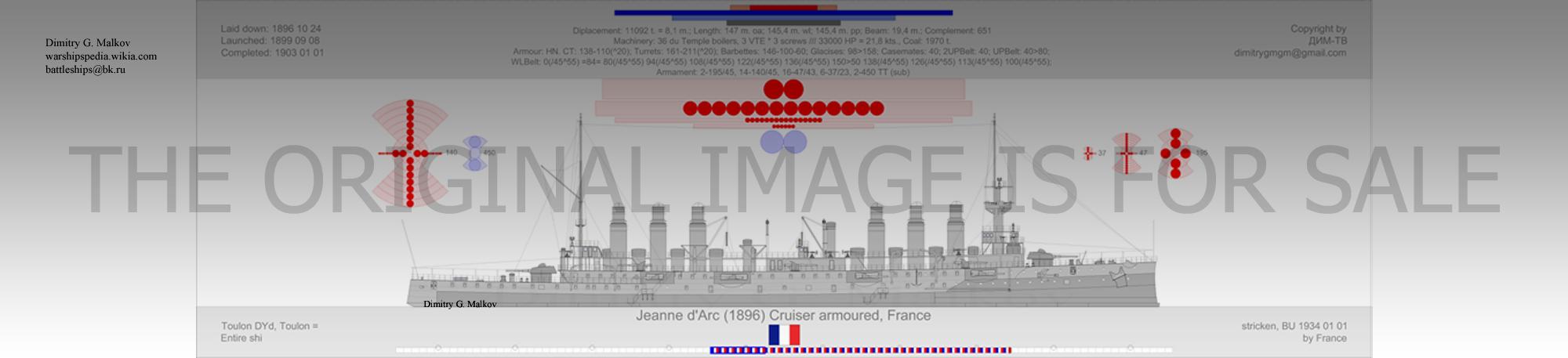 Mes dessins des navires francais Ca-18911