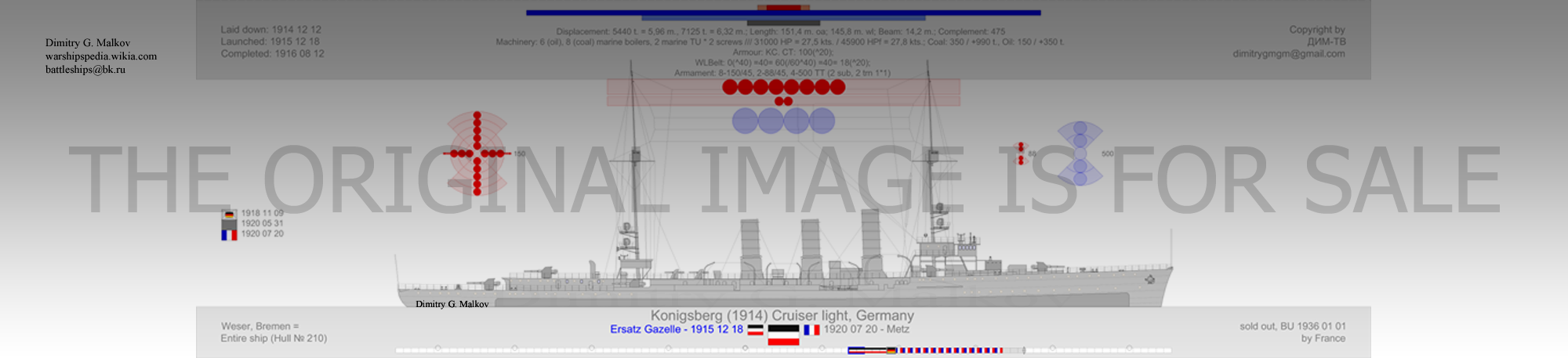 Mes dessins des navires francais Cl-19113