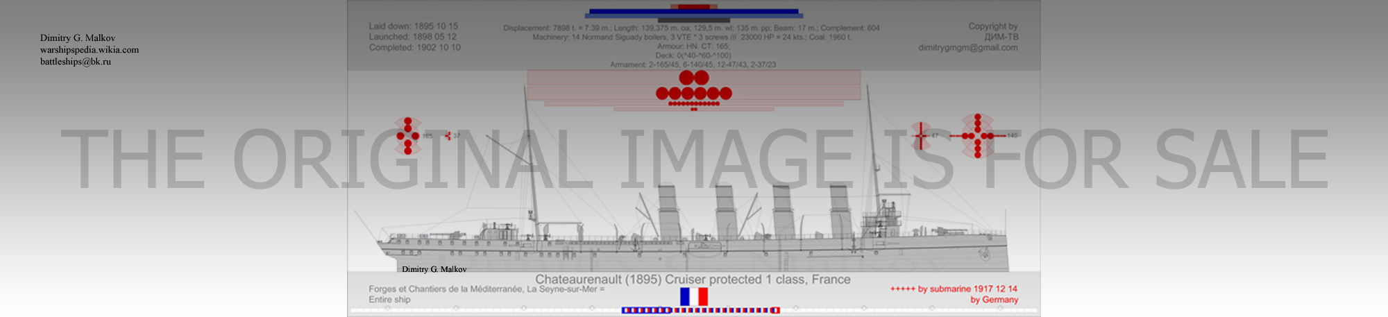 Mes dessins de navires français et de construction française - Page 15 Cp-18935