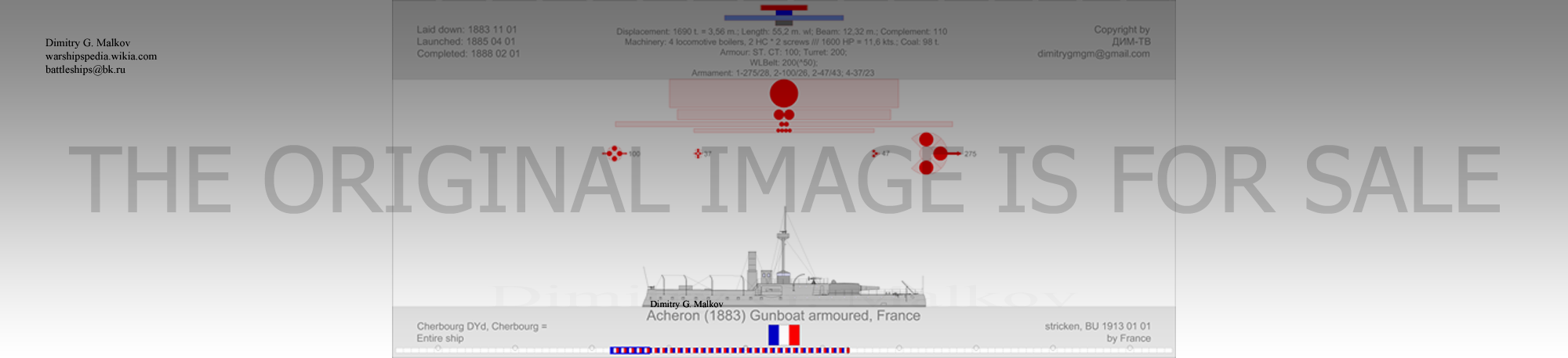Mes dessins des navires francais - Page 9 Ga-18813