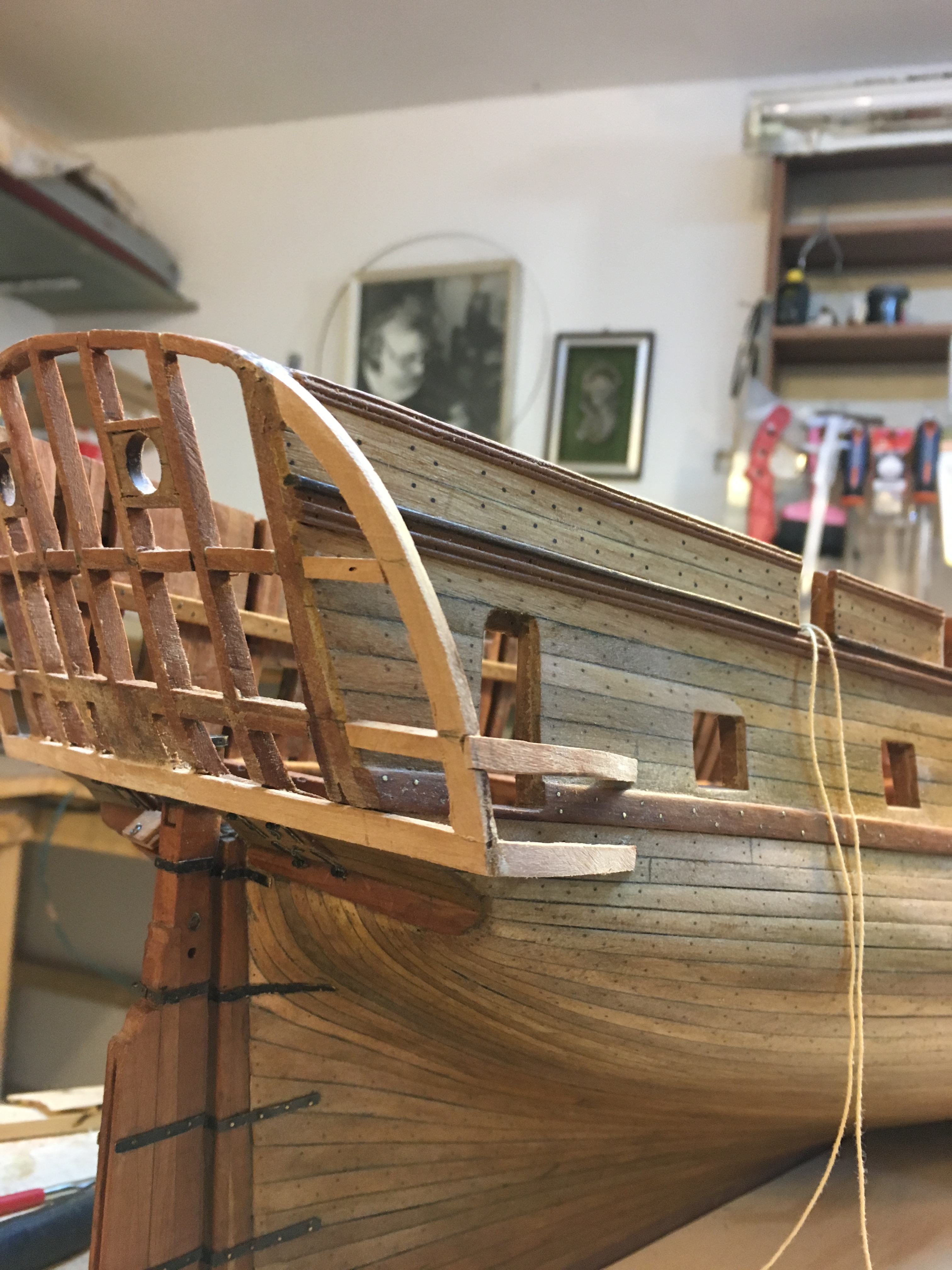 Fregata L'HERMIONE(arsenale)scala 1/48 di Carmelo Tuccitto - Pagina 4 Adb63410